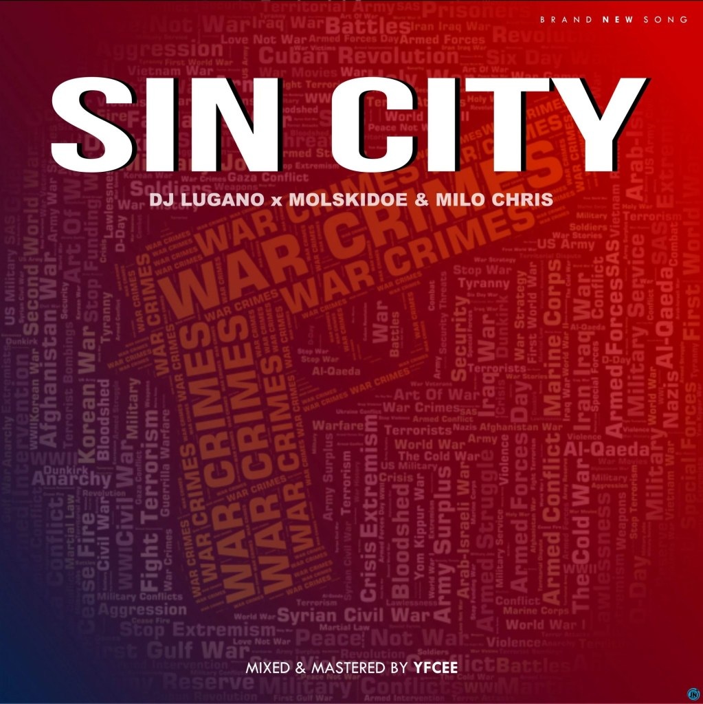 DJ Lugano Sin City artwork