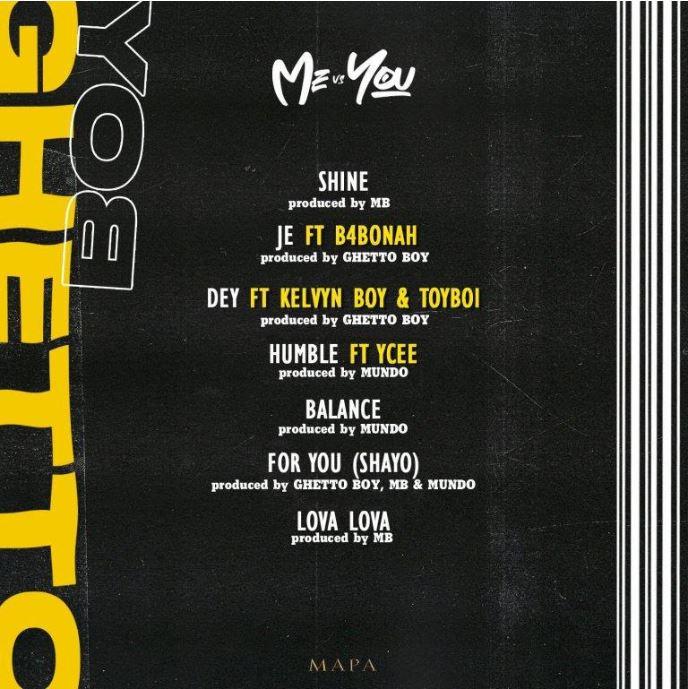 Ghetto Boy – Dey Ft Kelvyn Boy x Toyboi Prod by Ghetto Boy